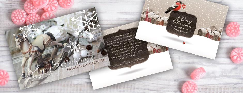 weihnachtskarten f r privat und die firma karten mal. Black Bedroom Furniture Sets. Home Design Ideas